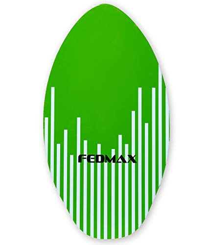 "Fedmax Skimboard with High Gloss Coat | Green, 41"" (120lbs. - 220lbs.) 