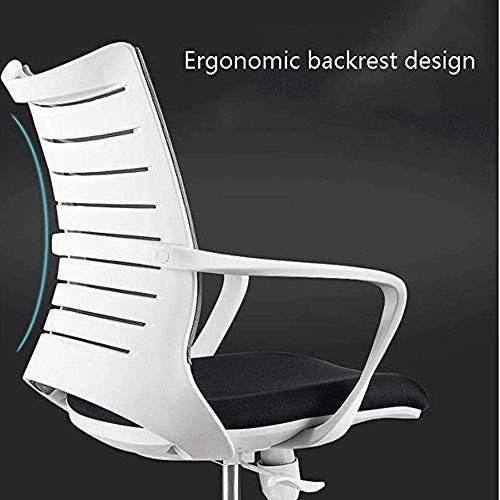 Sittspel stol hem kontor stol dator stol kan rotera och sitta bekvämt ergonomisk stol knästol (färg: B)