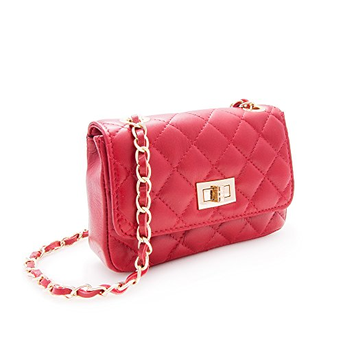 High Small 3 Measures 4 7 Bags Shoulder Red Black and Handbag x Hobos 3 Women's Zerimar inch Handbag Handbag x Leather 5 Women's Colour Big 2 Quality UvHw6xqYA