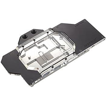 Phanteks PH-GB1080TiAS_BK01 PH-GB1080TiGB_BK01 for Asus Strix 1080Ti Gaming OC RGB Lighting Full Water Block Satin Black Edition