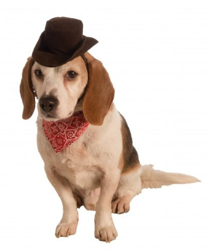 Rubie's Pet Cowboy Accessory Set, (Small Dog Cowboy Costume)