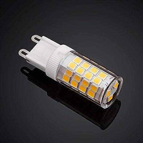 TMT LEDS(TM) BOMBILLA LED G9 3.5W 350 LUMENES BLANCO CALIDO 2 AÑOS GARANTIA ALTA CALIDAD: Amazon.es: Iluminación