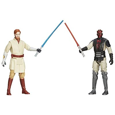 Star Wars, Mission Series Mandalore Pack [Obi-Wan Kenobi and Darth Maul], 3.75 Inches