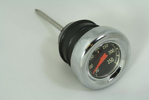 Bkrider Oil Temperature Dip Stick for Harley-Davidson (Harley Gauge Davidson Oil Temperature)