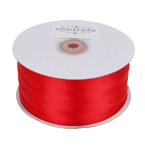 Homeford FCR000PSF2000250 Ribbon, 2'', Red by Homeford