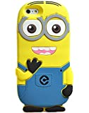 Go Crazzy Despicable Me Minion Back Case For Apple iPhone 5/5S (Yellow & Blue)