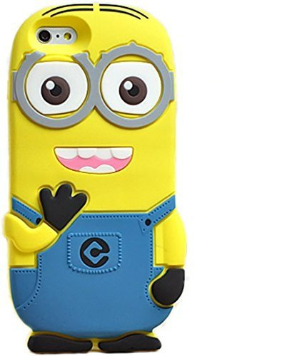 size 40 fcda3 6c3b0 Go Crazzy Despicable Me Minion Back Case For Apple iPhone 5/5S (Yellow &  Blue)