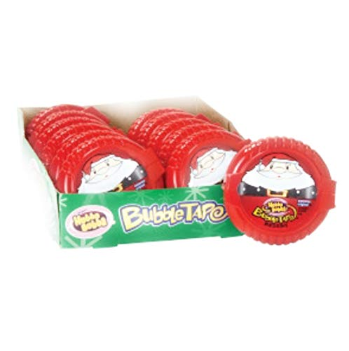 Hubba Bubba Holiday Christmas Bubble - Bubble Tape Wrigleys