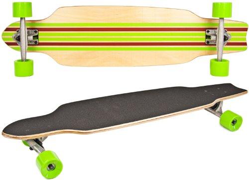 Nick and Ben Longboard Cruiser Skateboard Deluxe