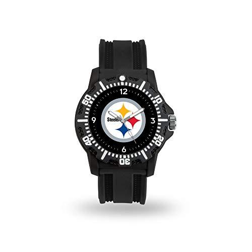 Mens Sport Nfl Watch (Rico Industries NFL Pittsburgh Steelers Model Three Watch)