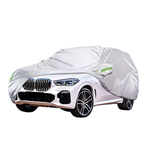 Auto Cover Compatibel met BMW X1/X3/X5 Beschermhoes Ademend Indoor en Outdoor Waterdicht Zonnebrandcrème Anti-UV Dekzeil…