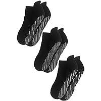 Deluxe anti Non Skid Slip Yoga Pilates calcetines Hospital con Grips para adultos Hombres Mujeres