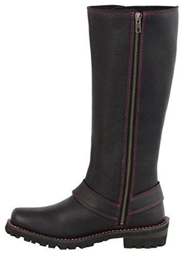 inches Stiefel bkfus Milwaukee Hot 10 Stiefeletten Mbl9367 amp; Damen Pink Fuchsia Black 14 10 SAFcOqZF
