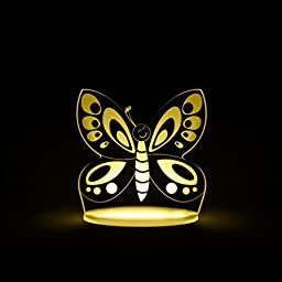 Total Dreamz Butterfly Multicolored LED Night Light