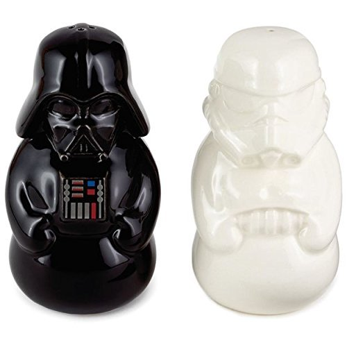Star Wars Darth Vader and Stormtrooper Salt and Pepper Shakers (Set of 2) (Darth Vader & Stormtrooper Salt & Pepper Shakers)