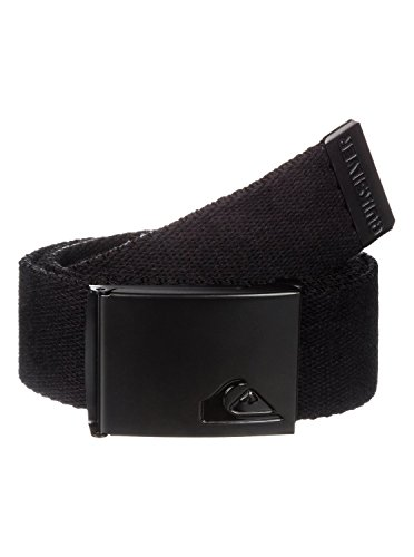 Quiksilver Embossed Belt (Quiksilver Men's The Jam Belt, Black, One)