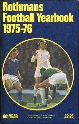 Book Rothman's Football Year Book 1975 - 76