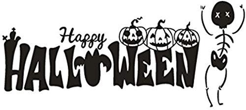 Happy Halloween Pumpkin Bone Hshi Home Art Murals Environmental Protection A SK16458