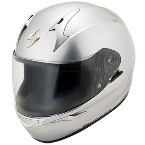 Scorpion EXO-R410 Solid Hypersilver Full Face Helmet - Medium