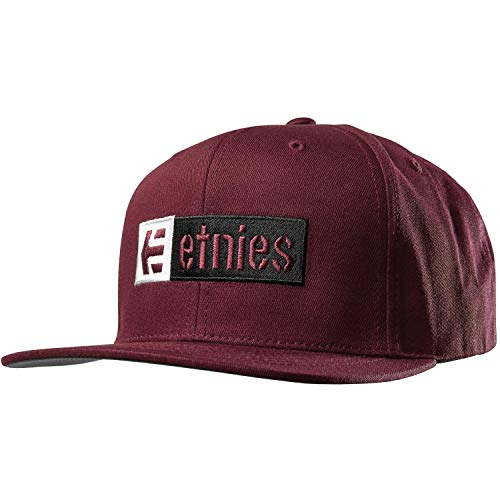 (Etnies Men's Corp Box Mix SNAP, Burgundy, One Size )