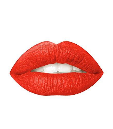 Dinair Matte Liquid Lipstick   Eva Orange - Red Eva