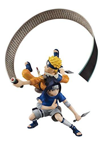 Naruto Shippuden Naruto & Sasuke G.E.M. Remix PVC Figure