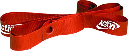 ACTION 27/700C VINYL RED (bag of 10) RIM STRIP by Action