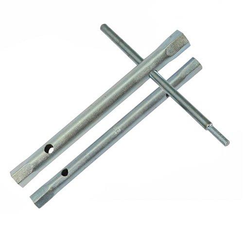 Silverline 395020 Monobloc-Steckschlüssel, 5-tlg. 8/9, 9/11, 10/11 u. 12/13 mm