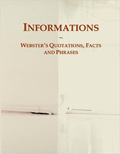 Book Informations: Webster's Quotations, Facts and Phrases