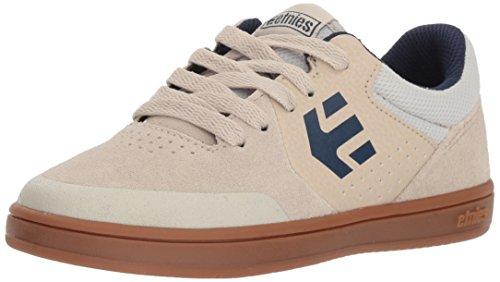 Etnies Marana Skate Shoe, White/Navy/Gum, 1c Medium US Big Kid