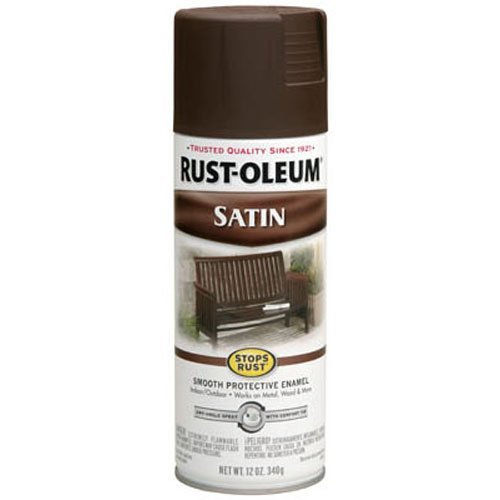 rustoleum spray paint brown - 2