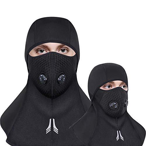 Venoro Balaclava Windproof Ski Mask with Breathable Vents]()