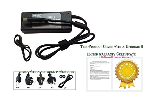 Price comparison product image UpBright NEW AC / DC Adapter For HP Regulatory Model: TPN-W106 TPN-W107 TPN-W108 TPN-W109 TPN-P102 TPNW106 TPNW107 TPNW108 TPNW109 TPNP102 Laptop Notebook Computer PC 18.5V 3.5A 19.5V 3.33A 65W Power