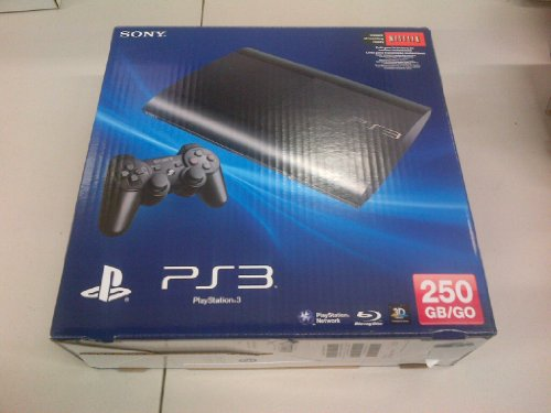 Playstation 3 250GB System - Slim (Redesign)