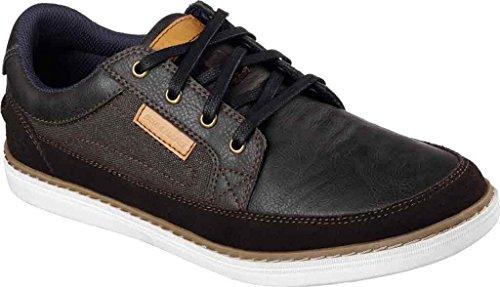 Skechers Herren Lanson Elaven Sneaker, Dunkelbraun