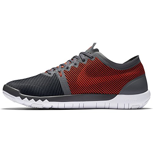 Nike Mænd Fri Trainer 3.0 V4 Mørkegrå / Lyse Crimson-sort-hvid 749361-060_8 v1kPw0MY