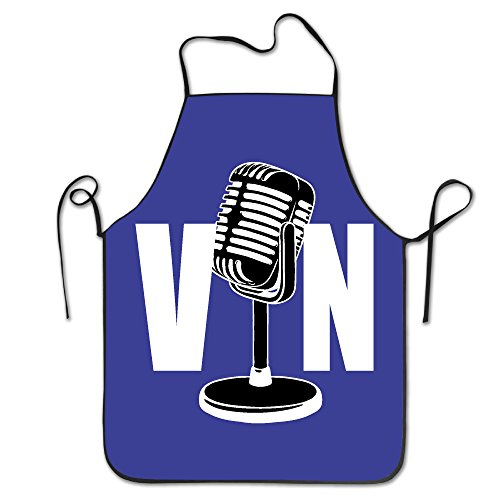 Vin Scully Dodger Baseball Los Angeles LA 1950 2016 67 Adjustable Kitchen Apron For Cooking Baking (Scully Costume)