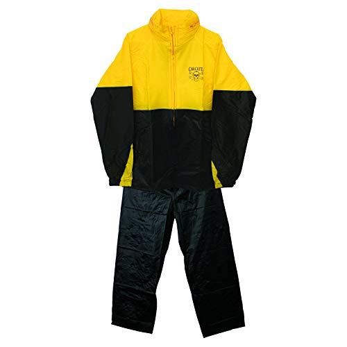 - Calcutta Two Pc Rainsuit (Black/Yellow, Medium)