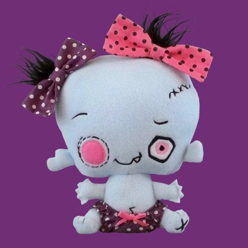 Vamplets - The Nightmare Nursery - Zombie Baby Mortis Van Kilt III by Vamplets