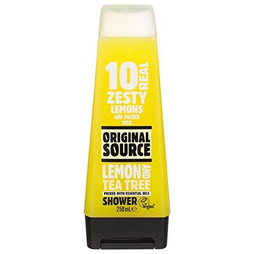 Original Source Lemon and Tea Tree Shower Gel, 250ml (Original Shower Source Gel)