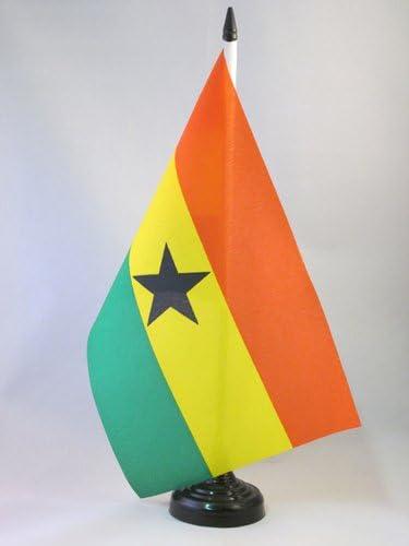 AZ FLAG Bandera de Mesa de Ghana 21x14cm - BANDERINA de DESPACHO GHANÉS 14 x 21 cm: Amazon.es: Hogar