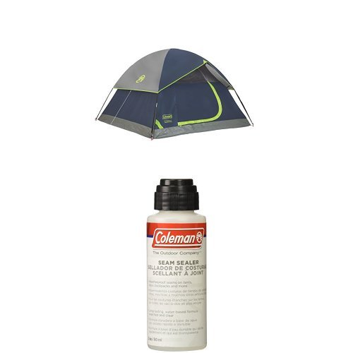 Amazon.com  Coleman Sundome 3-Person Dome Tent Green with Seam Sealer 2-oz  Sports u0026 Outdoors  sc 1 st  Amazon.com & Amazon.com : Coleman Sundome 3-Person Dome Tent Green with Seam ...