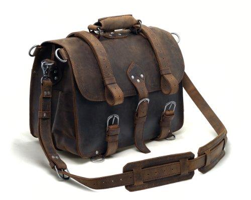 Leyden and Sons Leather Bag Co. – Roosevelt Saddlebag, Bags Central