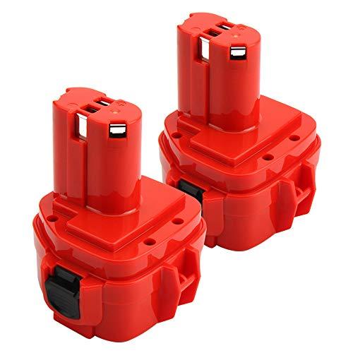 Lotive 2Packs 12V 3000mAh Ni-MH Compatible With Makita 1222 1233 1235 1234 PA12 1220 1200 1235B 1235A 1235F 192696-2 Cordless Power Tools For Sale