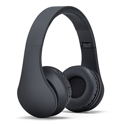 Status Audio HD One Headphones - JetBlack - Lightweight On-Ear Noise Isolating Headset with High Definition Studio Sound (Wired,not Bluetooth)