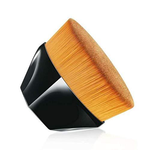 Foundation Makeup Brush - Flat Top Kabuki Blush Powder Brush For Blending Liquid, Cream or Flawless Powder Cosmetics