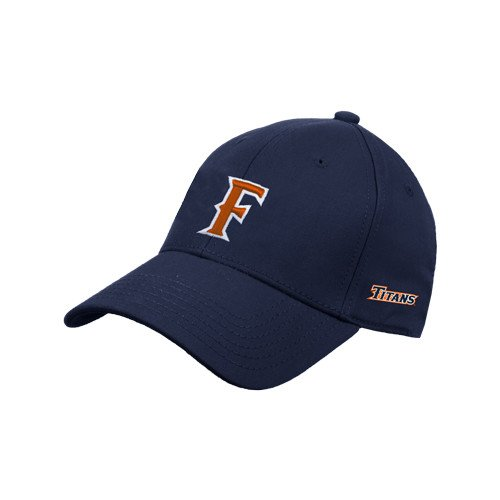 Cal State Fullerton Navy Heavyweight Twill Pro Style Hat 'F'