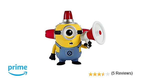 Funko Pop! Movies: Despicable Me - Fire Alarm Collectible Figure Despicable Me - Figuras de acción y de colección (Collectible Figure, Dibujos ...