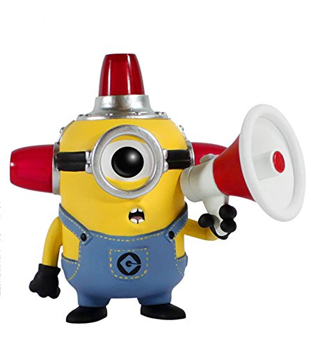 Funko  POP Movies: Despicable Me 2 - Fire Alarm Minion Actio...