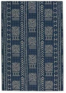 "product image for Capel Rugs Area Rug, 5' 3"" x 7' 6"", Midnight Blue"